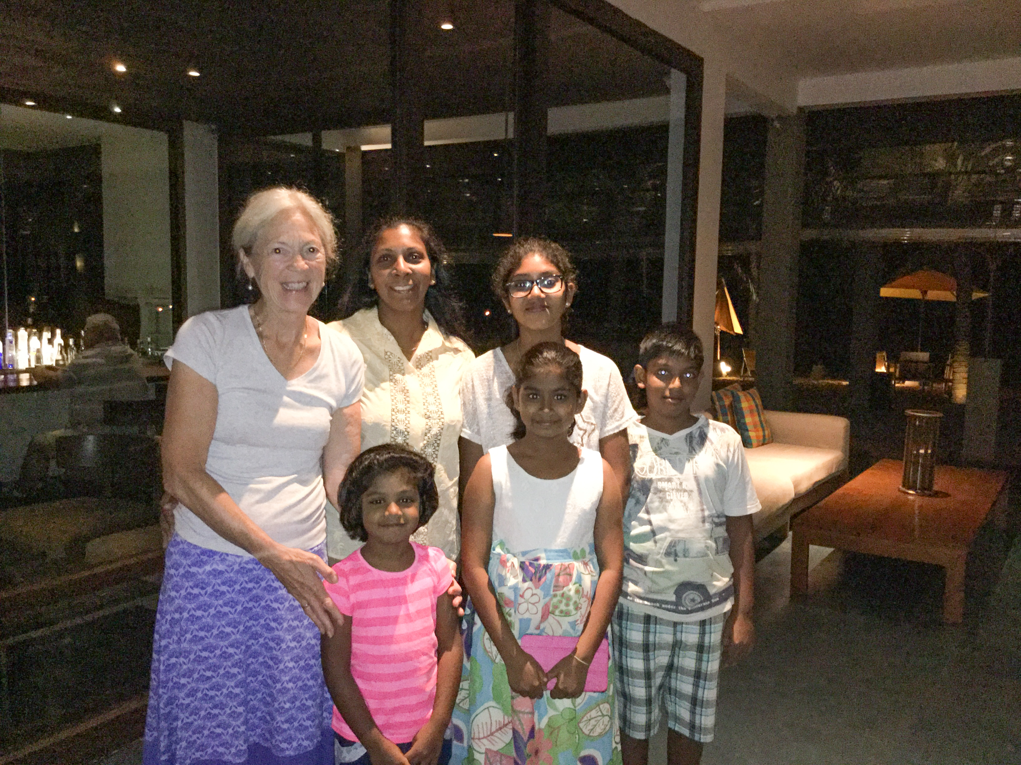 And then we met another family who wanted a photo :)